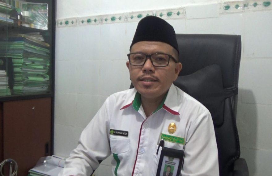 Burhan Noor, kasi PHU Kemenag kota Banjarmasin