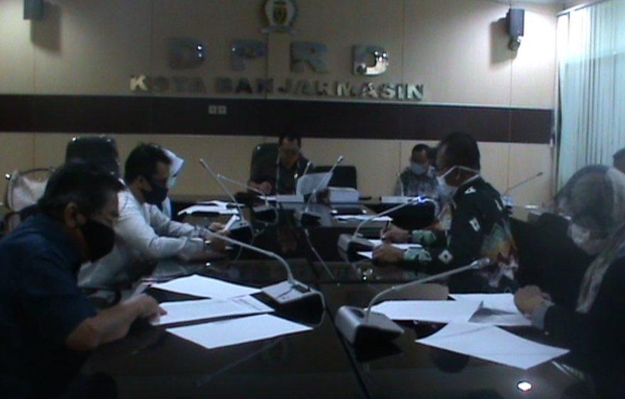 Rapat pembahasan LKPJ APBD 2019