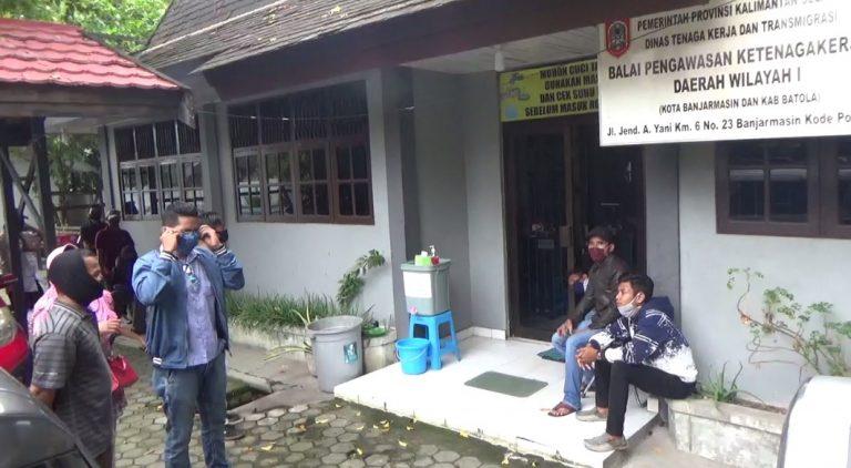 PHK Karyawan Saat Covid-19, Disnaker Kalsel Panggil Perwakilan PT Wilson Lautan Karet