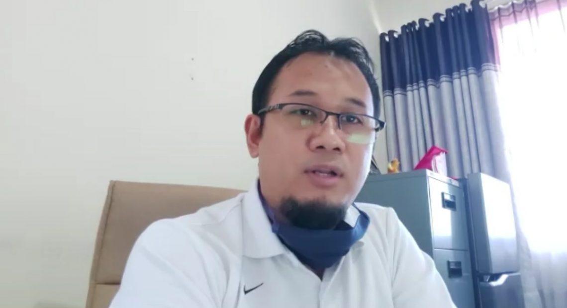 Fitri Hernadi, kabid Peningkatan Olahraga Prestasi Dispora Kalsel