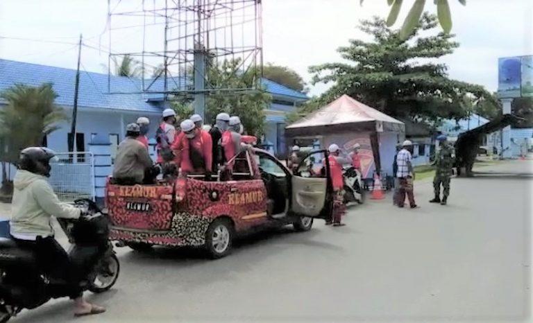Ratusan Damkar Kawal Almarhum Guru Zuhdi