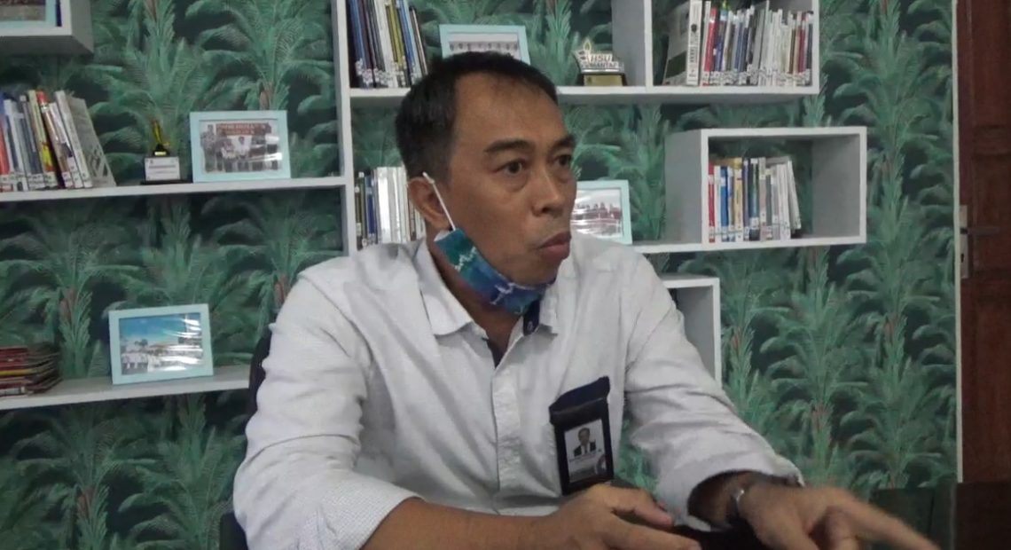 Kepala perwakilan Ombudsman RI Kalsel Noorhalis Majid