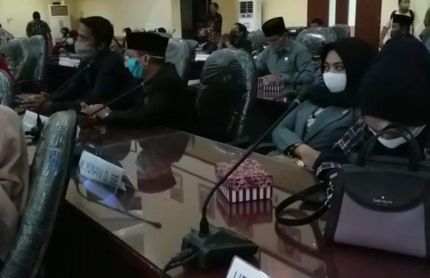 rapat paripurna DPRD Banjar