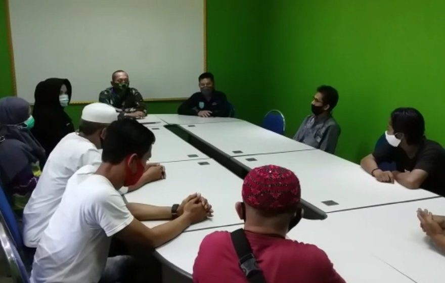 Rapat koordinasi antar pedagang Pasar Martapura dengan PD Pasar Bauntung Batuah