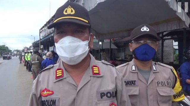 AKP Lukman(kanan) Simbolon