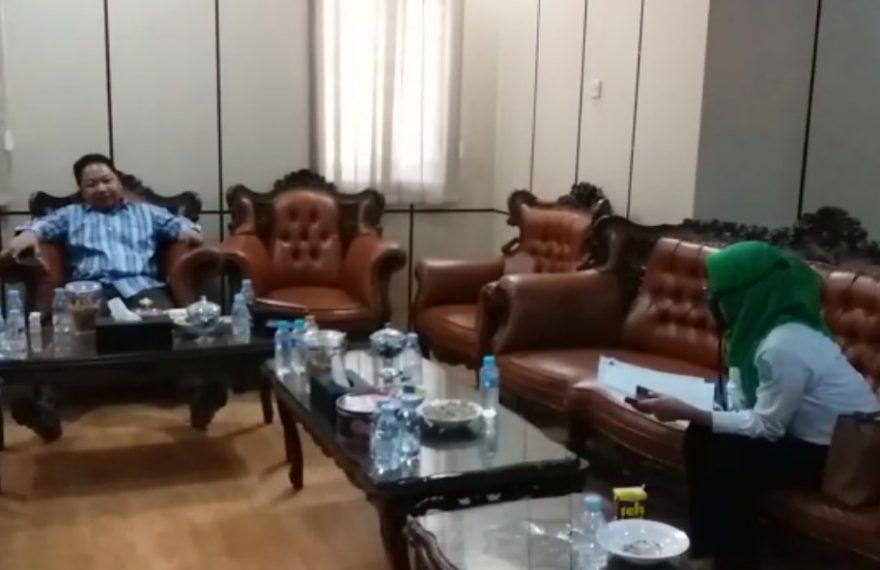 DPRD Banjar kunjungi kantor BPJS Intan Banjar