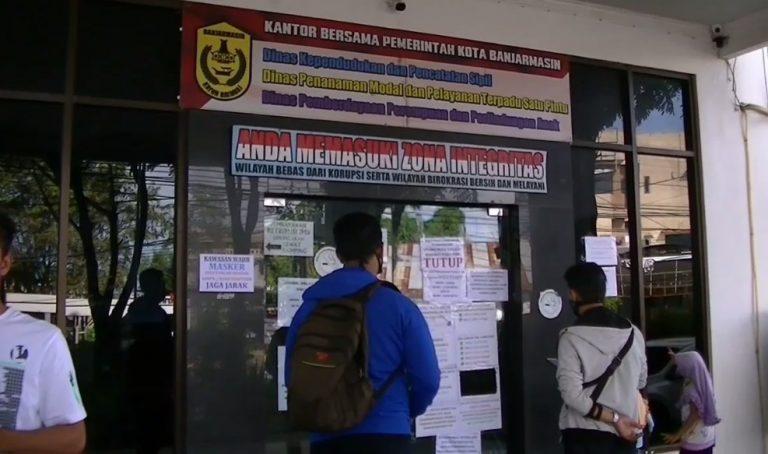 Disdukcapil kota Banjarmasin dibuka via online