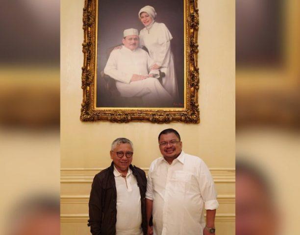 H. Yuni disebut mendampingi Abdul Haris Makkie, pada Bursa pemilihan Walikota