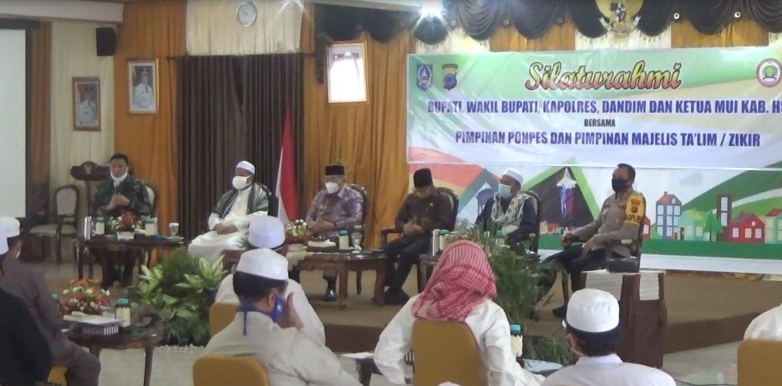 Pemkab HSS Rapatkan Barisan Bersama Alim Ulama