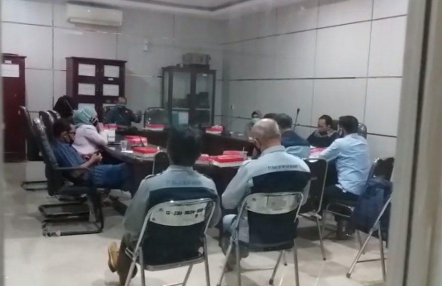 Proses Rapat PD Baramarta dengan Komisi II