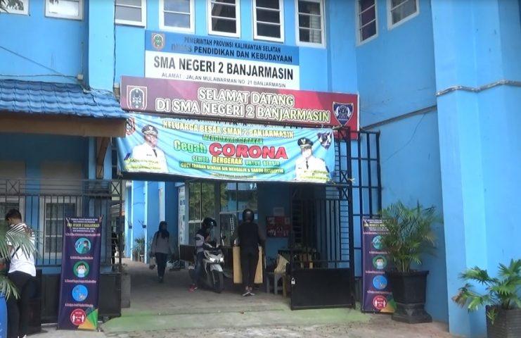 SMAN 2 Banjarmasin buka layanan Informasi PPDB lewat media sosial