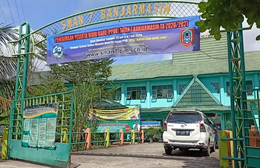 SMAN 7 Banjarmasin. siap terima peserta didik baru