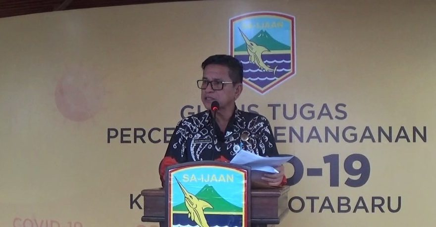 Said Akhmad Juru Bicara GTPP Covid-19 Kotabaru