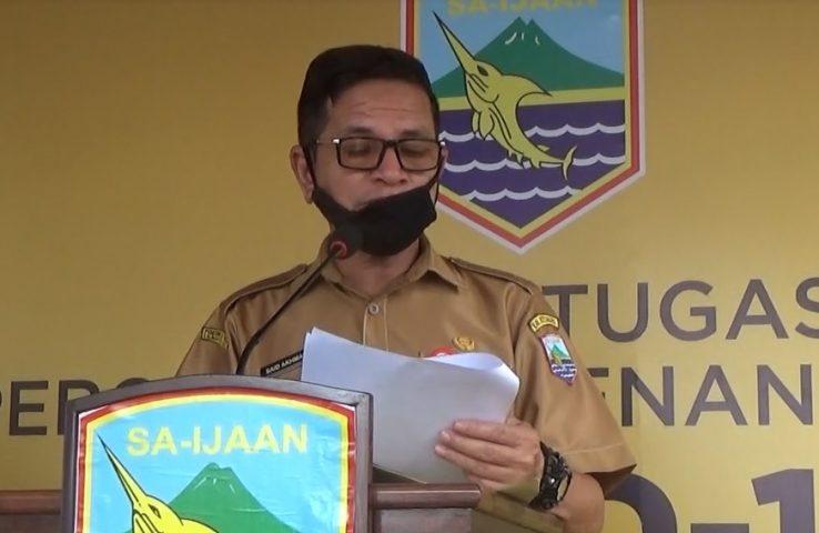 Said Akhmad Juru Bicara Tim GTPP Covid-19 Kotabaru