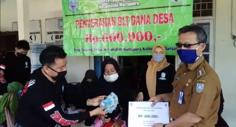 Serah Terima Bantuan BLT Dana Desa Tahap II