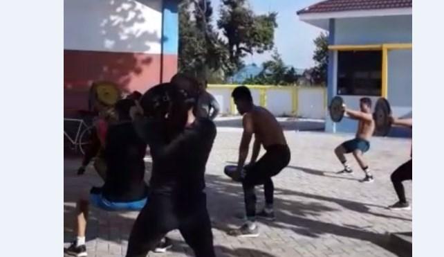 Tim Gulat Kalimantan Selatan mulai latihan kembali