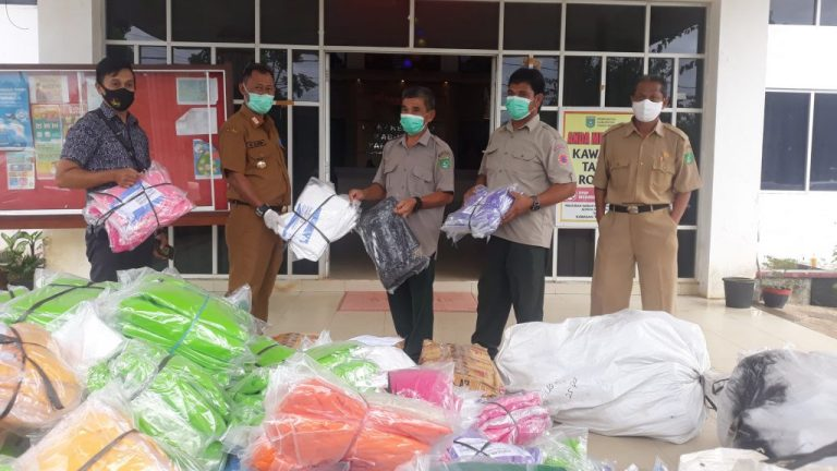 Dinas Kesehatan Kabupaten Tanah Bumbu terima bantuan APD dari Badan Penanggulangan Bencana Daerah (BPBD)