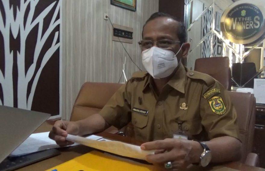 Machli Riyadi, juru bicara Tim GTPP Banjarmasin