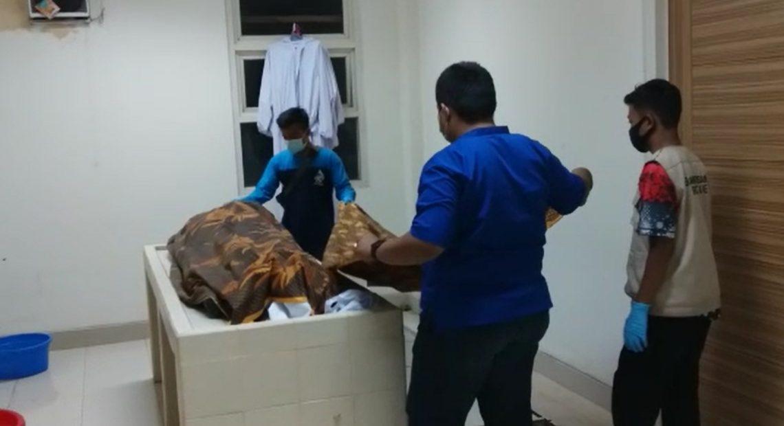 mayat kecelakaan di RSUD Idaman