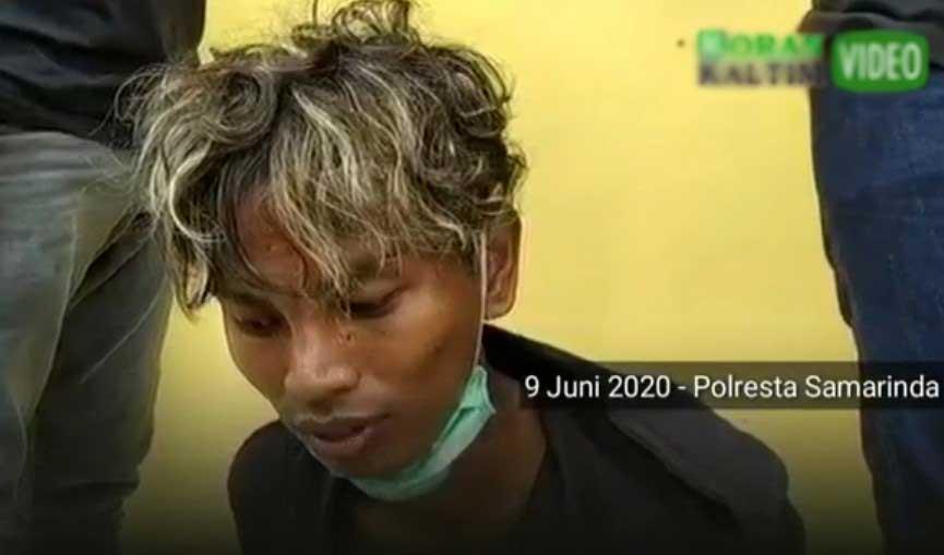 Penggorok Hasanuddin Ditangkap di Samarinda
