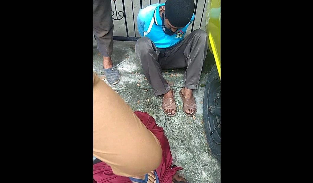 dua orang pelaku penjambretan diamankan