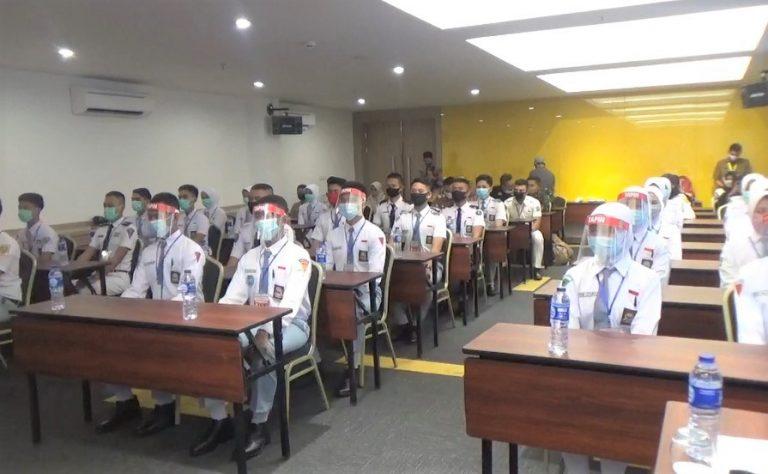 Dispora Kalsel Seleksi 65 Calon Anggota Paskibara Provinsi Kalsel