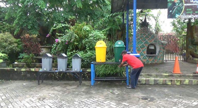 Masih Tutup, Taman Satwa Jahri Saleh Sudah Sediakan Tempat Cuci Tangan