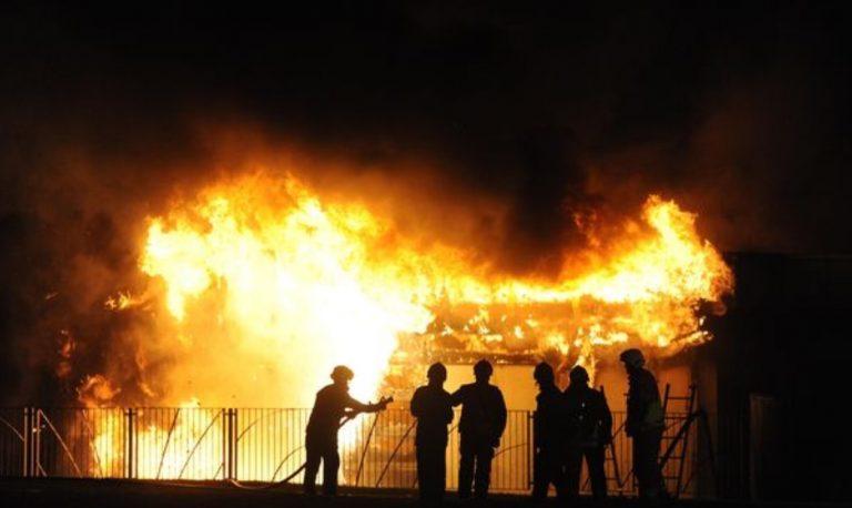 TK dan PAUD Muhamadiyah Jalan Cempaka Kebakaran