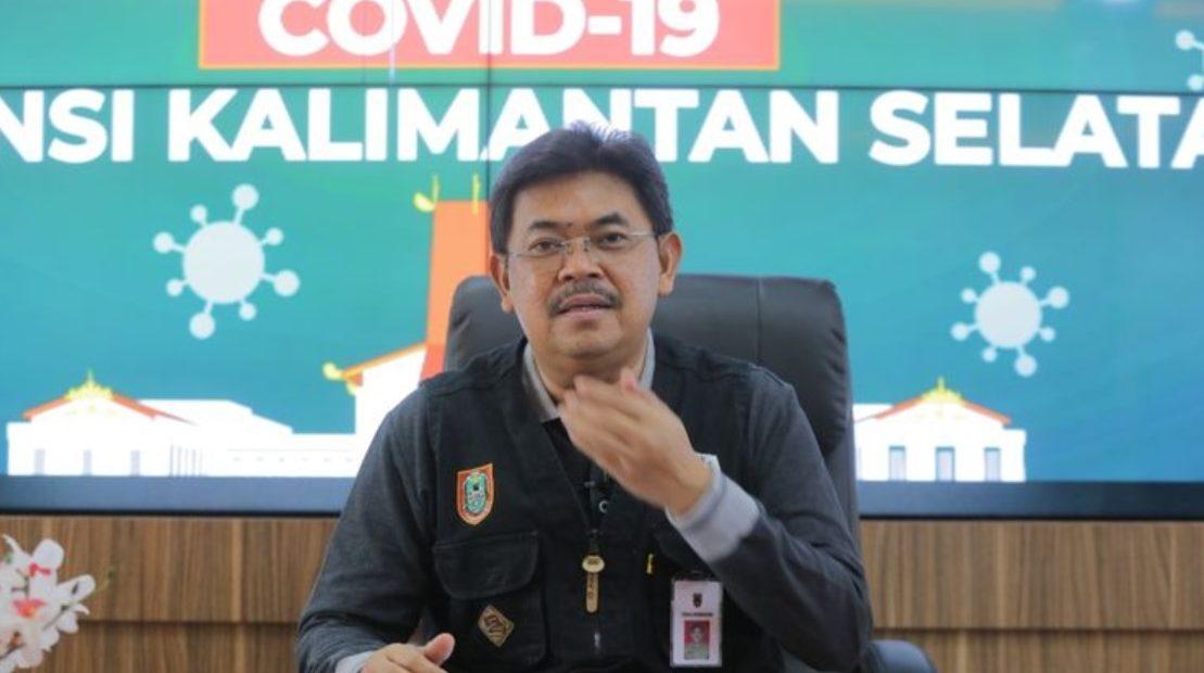HM Muslim, Juru Bicara Tim GTPP Kalsel