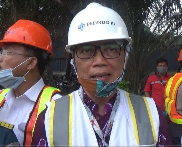 Ahmad Fajar, Perwakilan CEO Pelindo III Banjarmasin.