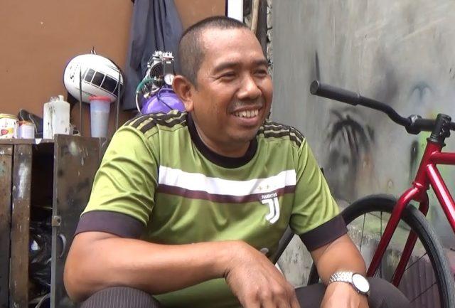 Tukang Service Sepeda Raih Omset 5 Kali Lipat