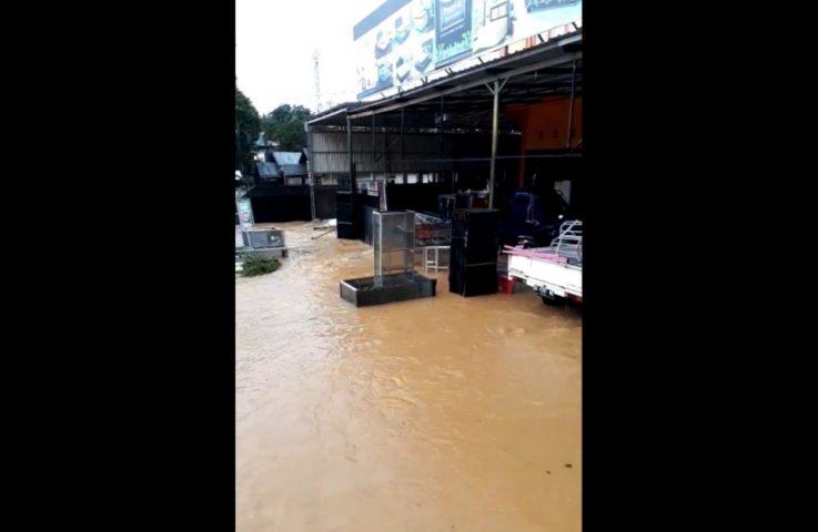 Hujan Lebat, Pelaihari Dikepung Banjir
