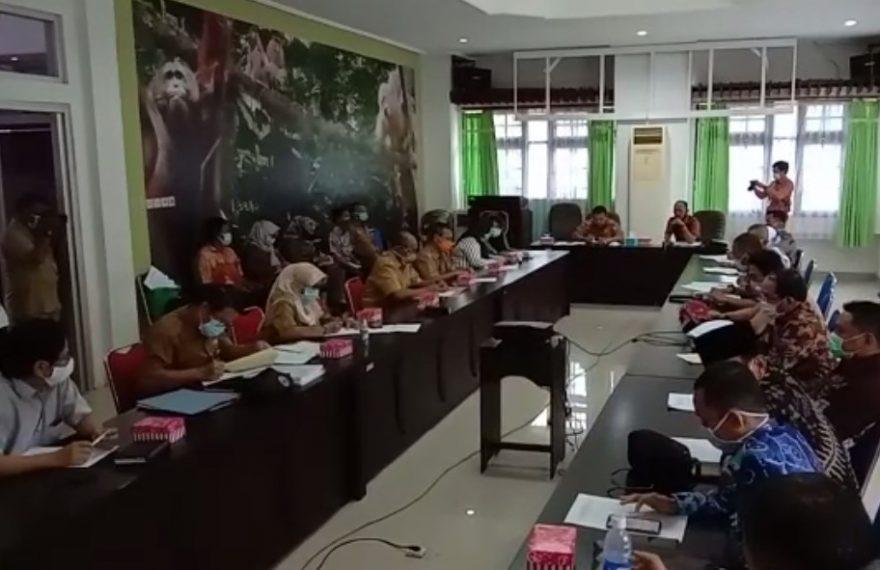 DPRD Kalsel melakukan kunjungan kerja ke Palangkaraya