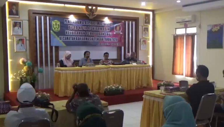 DPRD Kota Banjarmasin menyerap aspirasi masyarakat