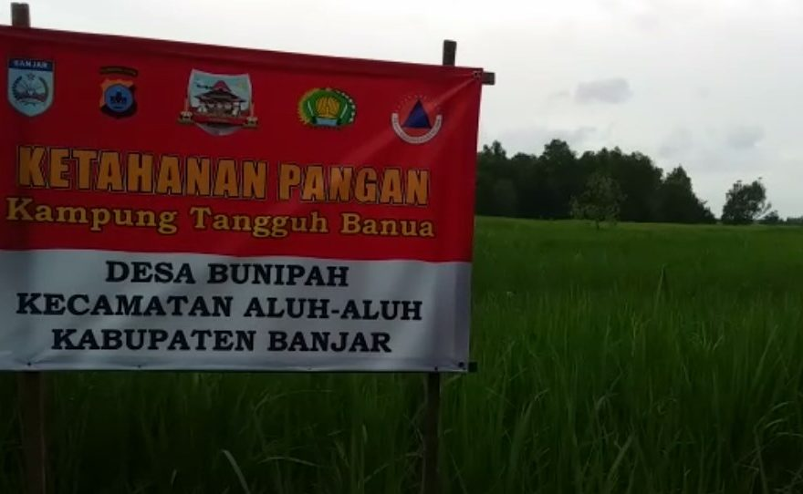 Desa Bunipah Jadi Kampung Tangguh Banua