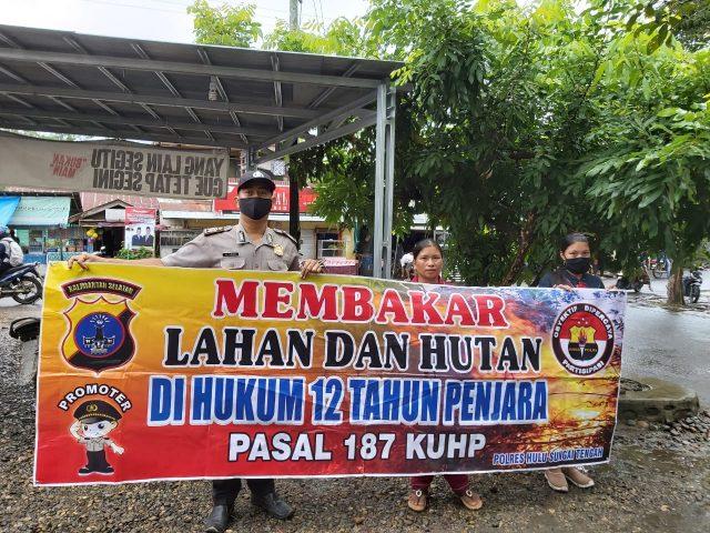 Cegah Karhutla, Polisi Akan Pidanakan Pelaku Karhutla