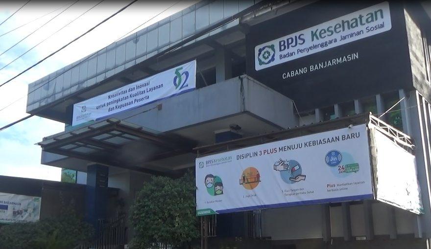 Kantor BPJS Kesehatan cabang Banjarmasin