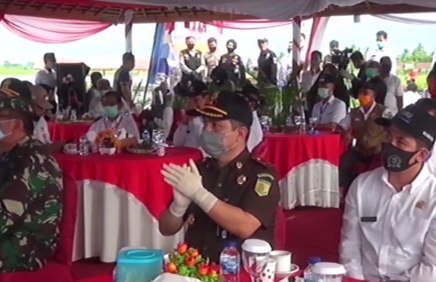Kapolda Puji Kampung Tangguh Banua Banyu Hirang