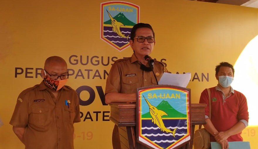 Kasus positif Covid-19 di Kotabaru