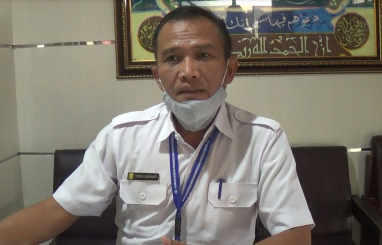 Kepala Dinas Pendidikan Banjarmasin Totok Agus Daryanto