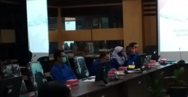 Komisi II DPRD Banjar Menggelar Rapat Dengan PDAM Intan Banjar