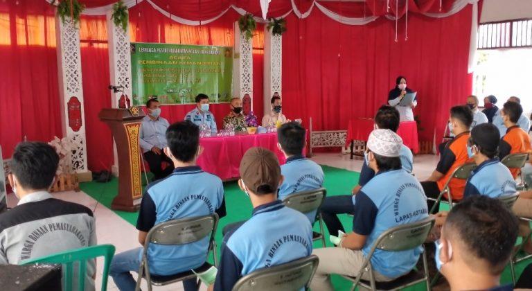 Lapas Kotabaru Memberikan Pembelajaran dengan Bertani Hidroponik