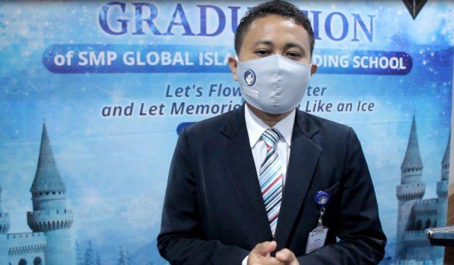 M. Rijali Riyadi Kepala Sekolah SMP GIBS