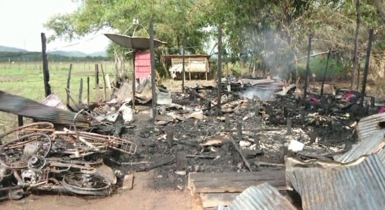Musibah Kebakaran terjadi di Jalan Beramban Pelaihari