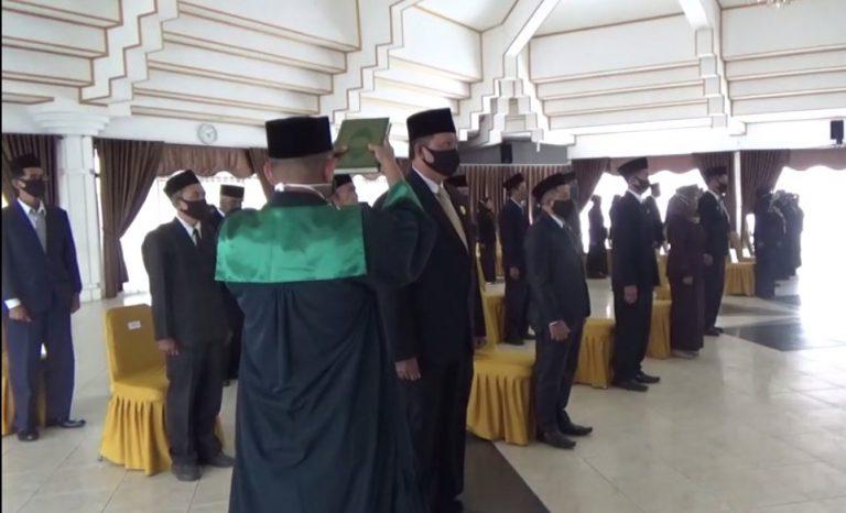 Pelantikan 37 pejabat kepala sekolah