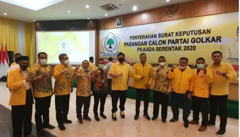 DPP Golkar Acc Duet Birin-Muhidin, Banjarmasin & Kotabaru Belum