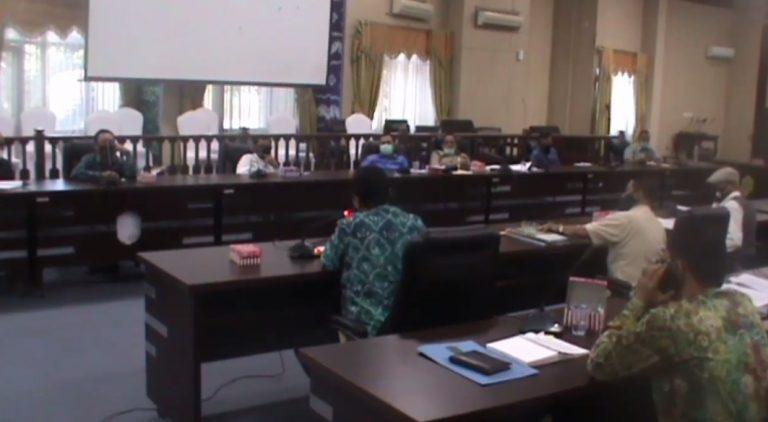 Rapat Paripurna awal Juli lalu Tentang LKPJ APBD 2020