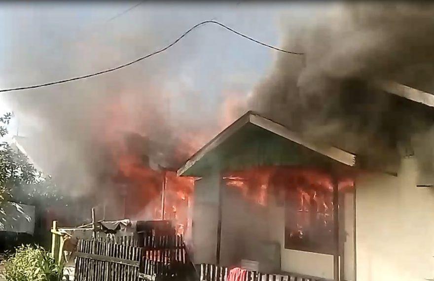 Terjadi Kebakaran di Griya Permata Handil Bakti