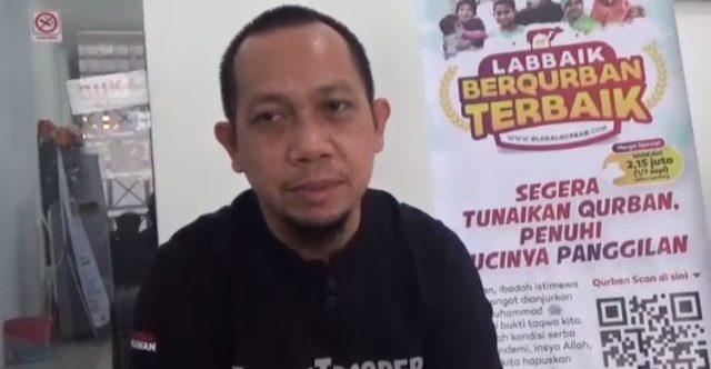 Zainal Arifin Kepala Cabang ACT Kalsel