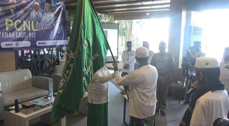 Haris Makkie Lantik 4 PCNU se-Kalimantan Selatan